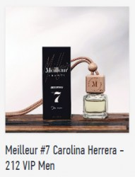 Meilleur #7 Carolina Herrera - 212 VIP Men